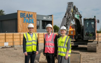 Construction starts at £1bn Beam Park scheme in east London