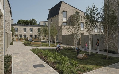 Eco-friendly Norwich council estate named UK's best new building