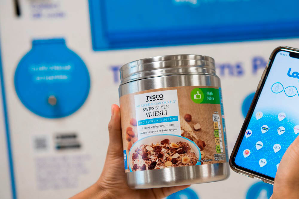 Tesco rolls out reusable packaging in ten stores