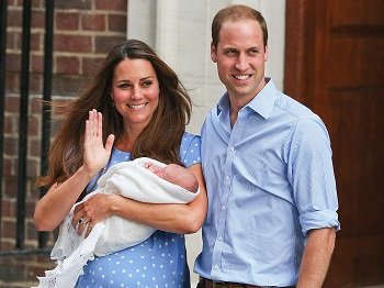 Royal baby: Duchess of Cambridge in early stages of labour