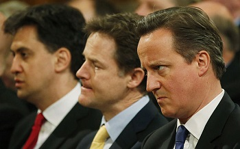 David Cameron takes 5-point lead in election race