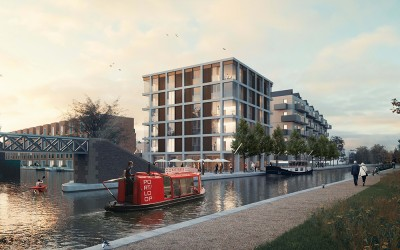 First modular properties arrive at new Birmingham development