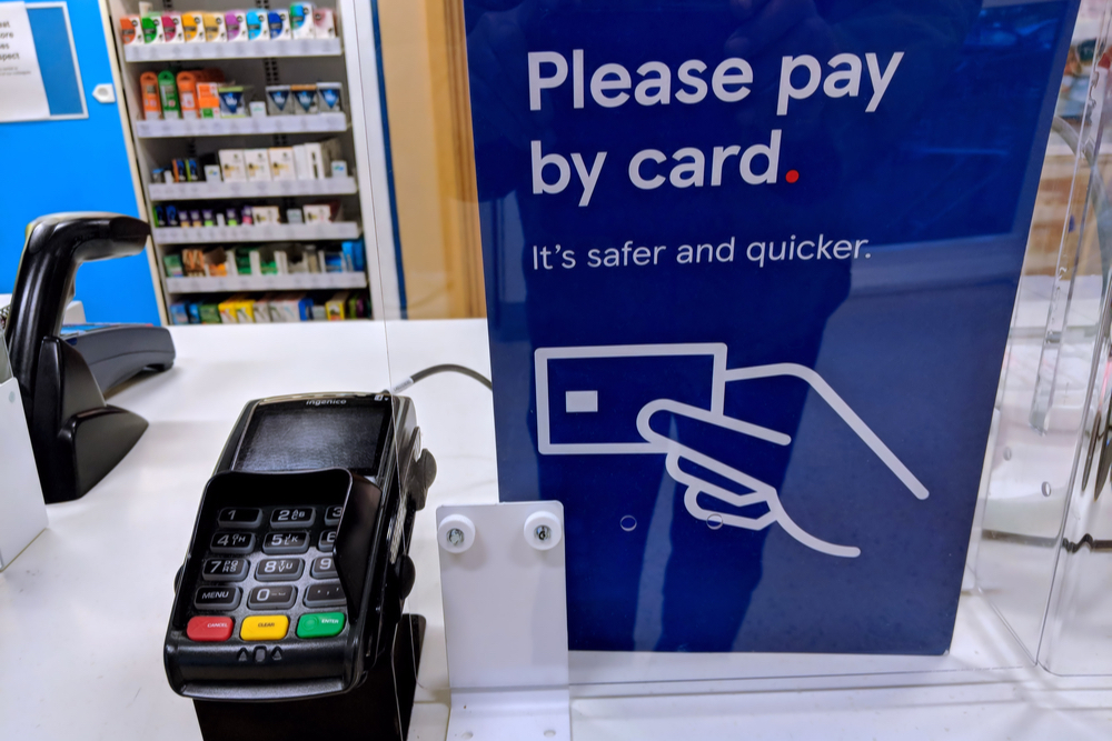 Card payments grow as cash transactions continue to decline